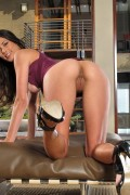 Tiffany Thompson plays with her vibrator from InTheCrack