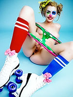 Lexi Belle is funny clown