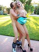 Brandi Love fucks outdoor and indoor
