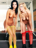 Sandra DeMarco and Simonne Peach